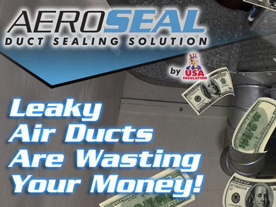 Aeroseal - Duct Sealing Solution